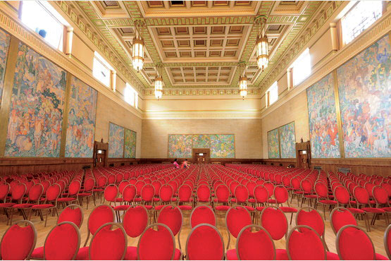 Guildhall Phase 5 Brangwyn Hall John Weaver