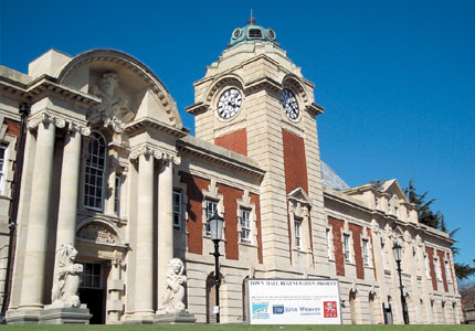 Restoration Of Barry Town Hall John Weaver