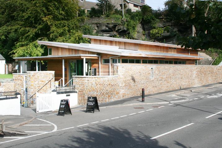 Aberdulais Falls Visitors Centre John Weaver