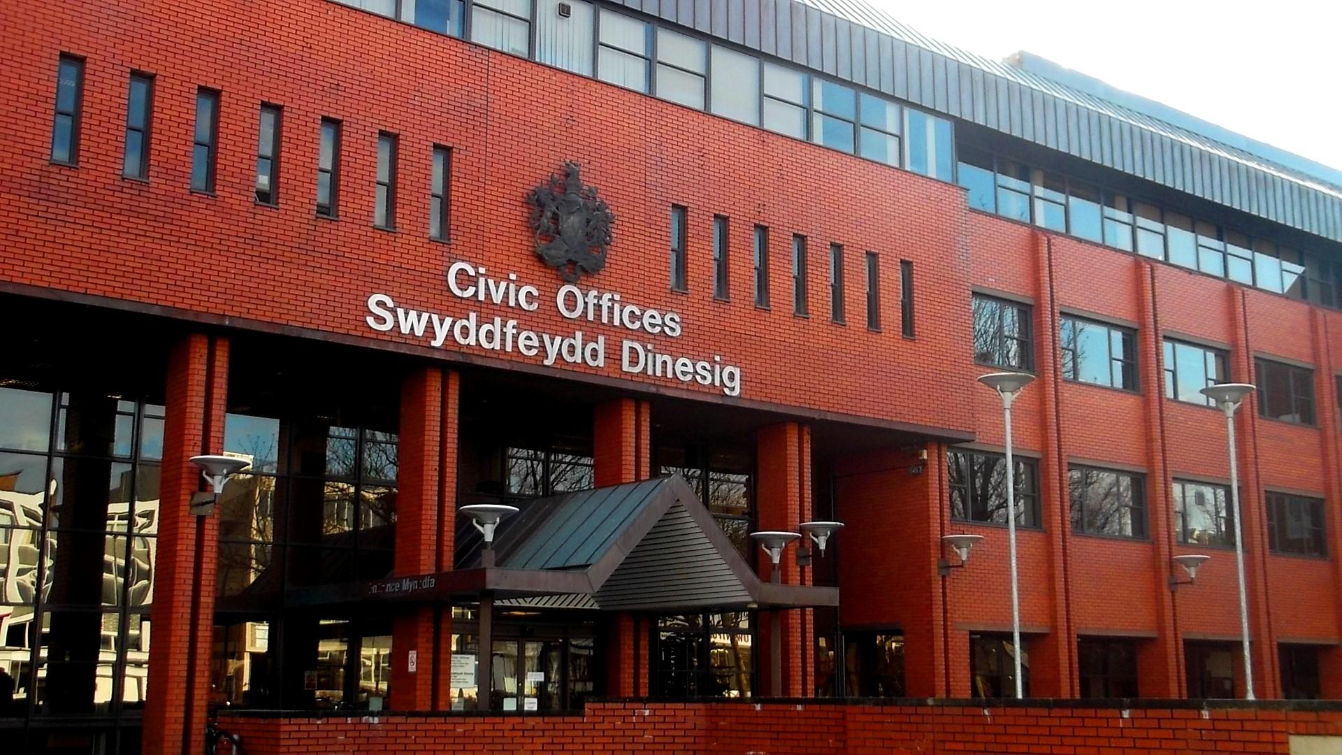 Refurbishment Of Civic Offices Barry John Weaver
